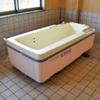 機械浴(寝浴)の写真